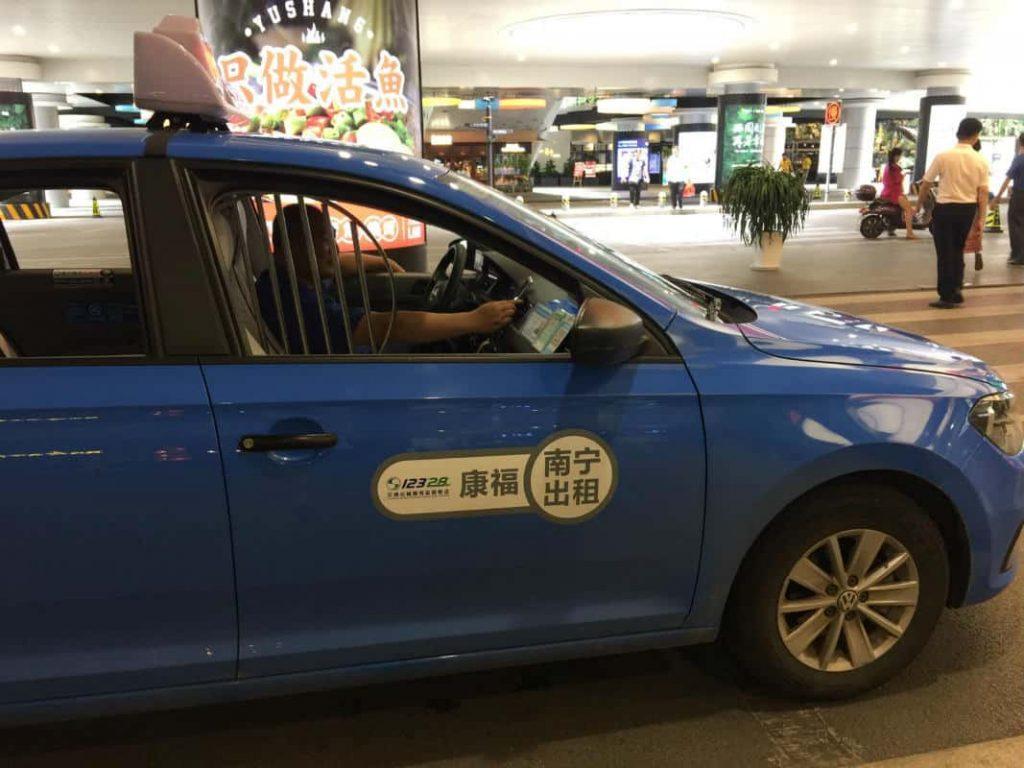 Taxi in Nanning - ComfortDelgro
